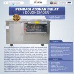 Pembagi Adonan Bulat (Dough Divider) MKS-BA80