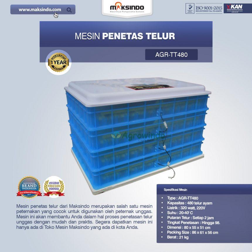 Jual Mesin Penetas Telur AGR-TT480 Di Bogor