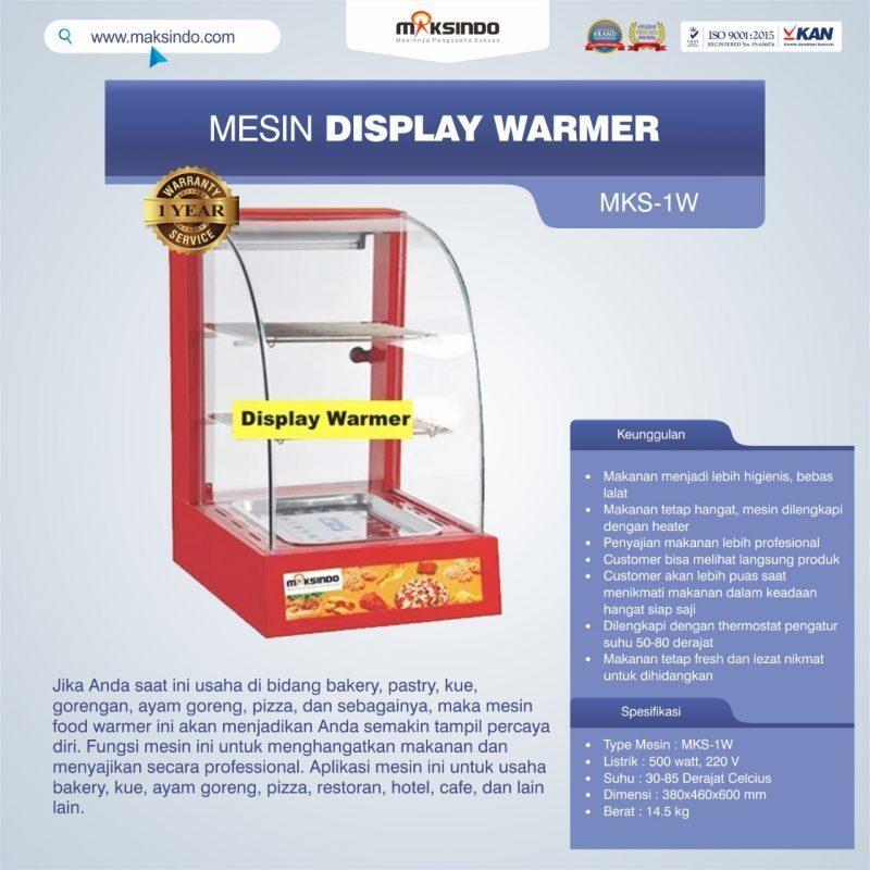 Jual Mesin Display Warmer (MKS-1W) di Bogor