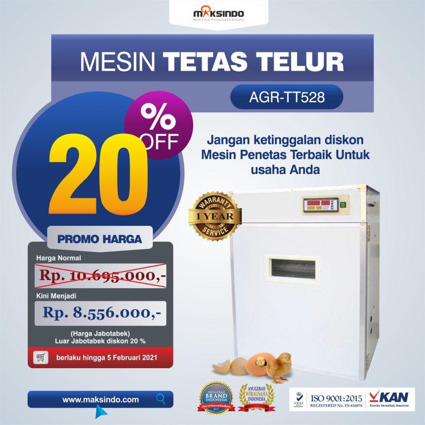 Jual Mesin Tetas Telur Industri 528 Butir (Industrial Incubator) di Bogor