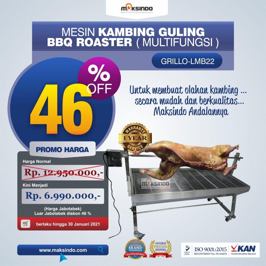 Jual Mesin Kambing Guling BBQ Roaster (GRILLO-LMB22) di Bogor