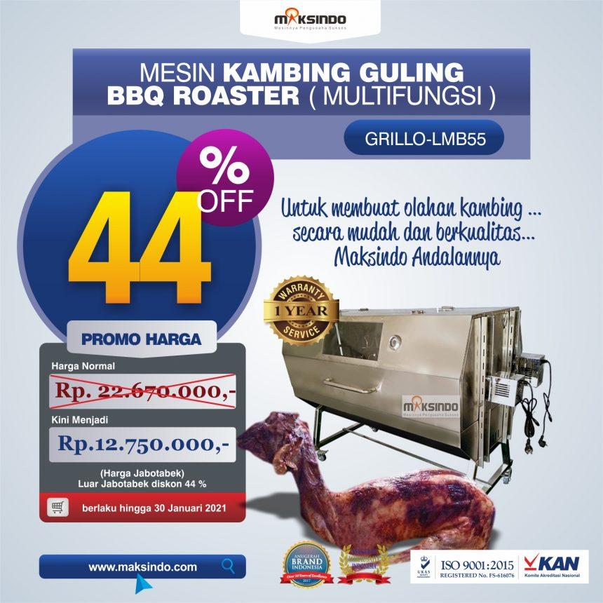 Jual Jual Mesin Kambing Guling Double Location Roaster (GRILLO-LMB55) di Bogor