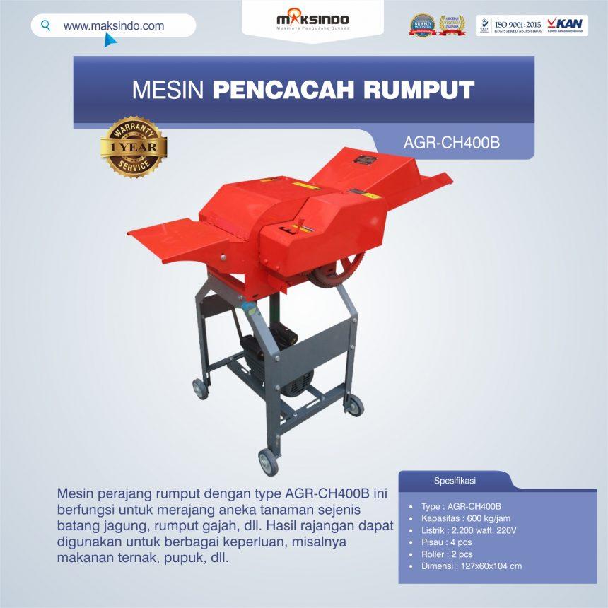 Jual Mesin Pencacah RumputAGR-CH400B di Bogor