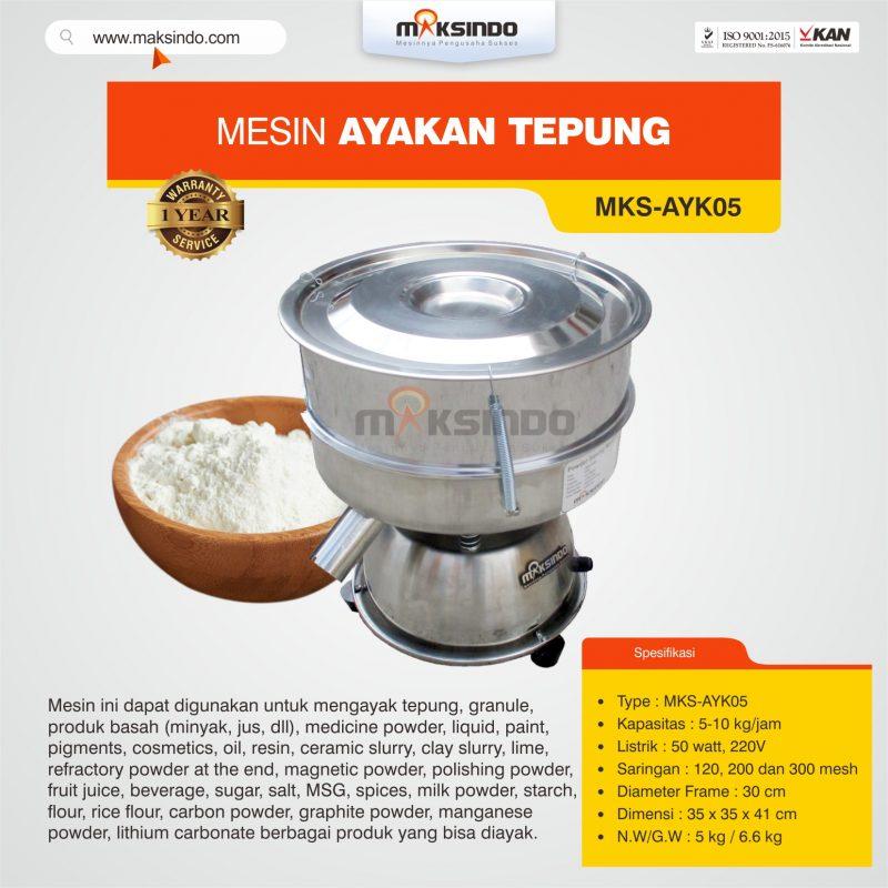 Jual Mesin Ayakan Tepung MKS-AYK05 di Bogor