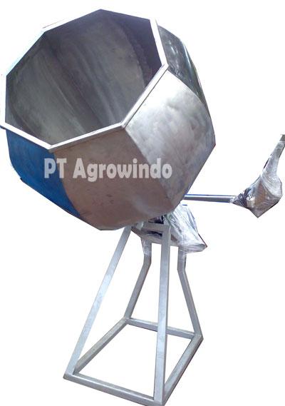 Mesin Pengaduk Bumbu (Hexagonal)
