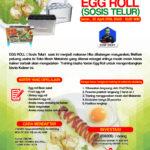 Training Usaha Varian Egg Roll (Sosis Telur), 30 April 2018