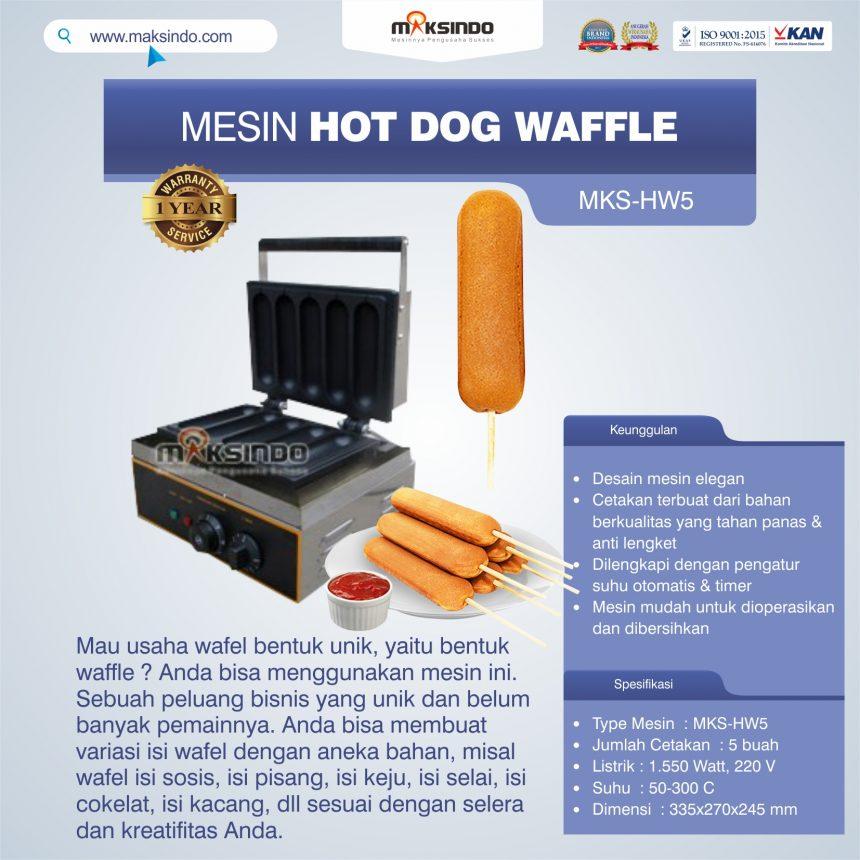 Jual Mesin Hot Dog Waffle MKS-HW5 Di Bogor