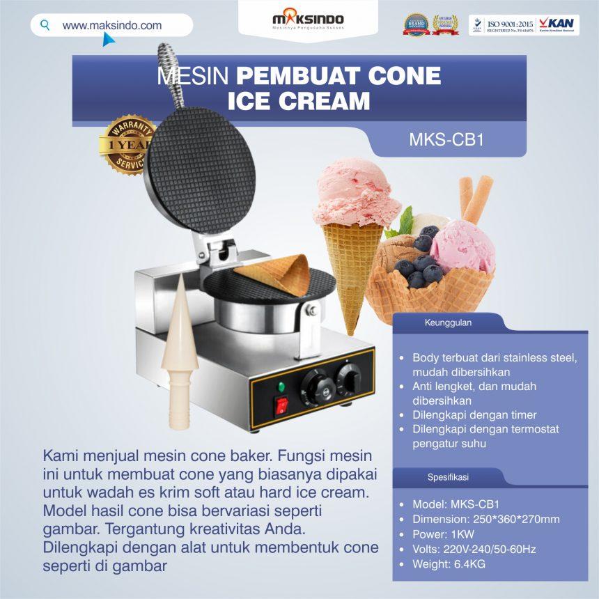 Jual Mesin Pembuat Cone (Cone Baker) Untuk Es Krim di Bogor