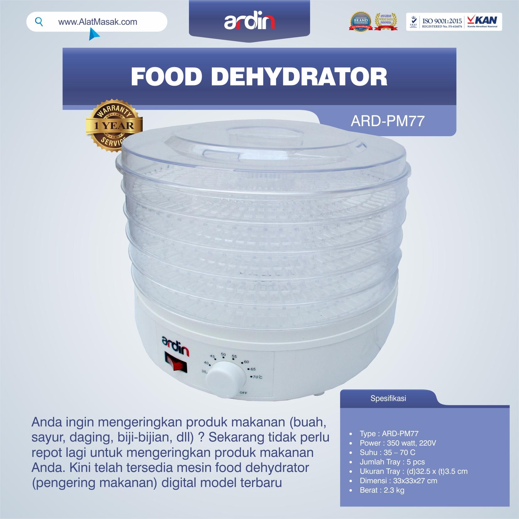 Jual Food Dehydrator ARD-PM77 di Bogor