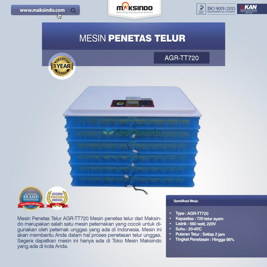 Jual Mesin Penetas Telur AGR-TT720 Di Bogor