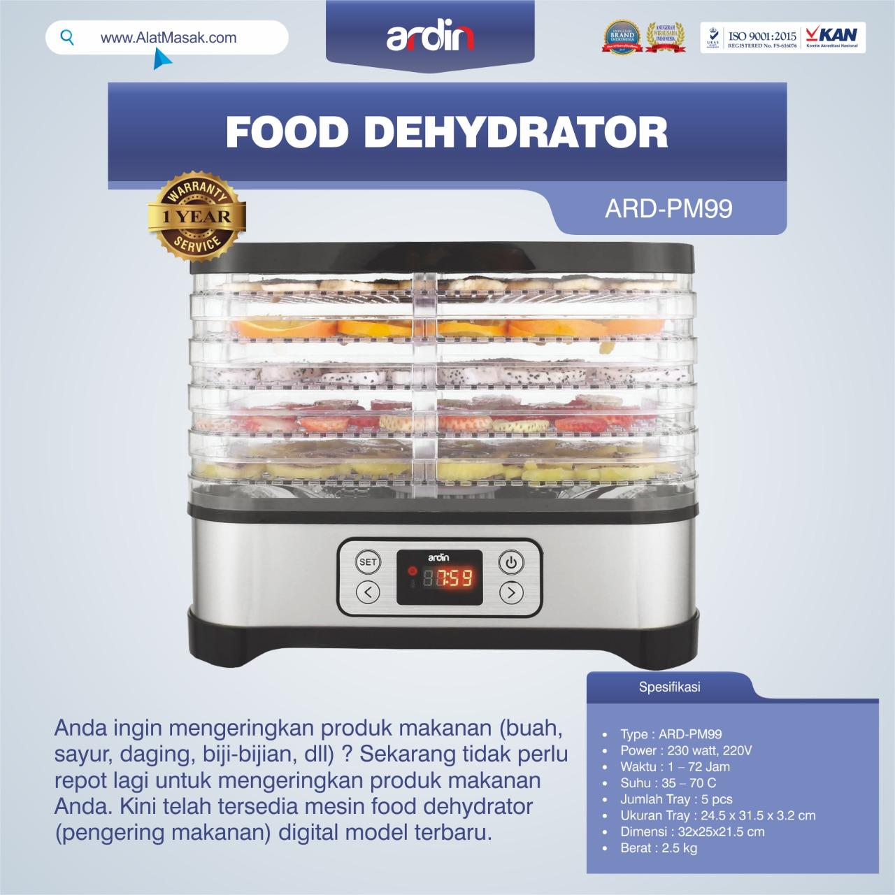 Jual Food Dehydrator ARD-PM99 di Bogor