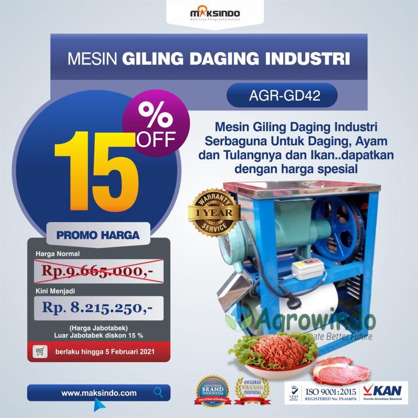 Jual Mesin Giling Daging Industri (AGR-GD42) di Bogor
