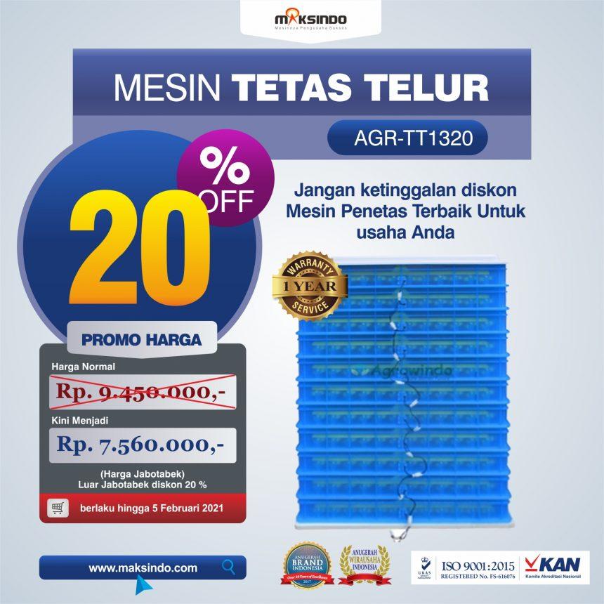 Jual Mesin Penetas Telur AGR-TT1320 Di Bogor