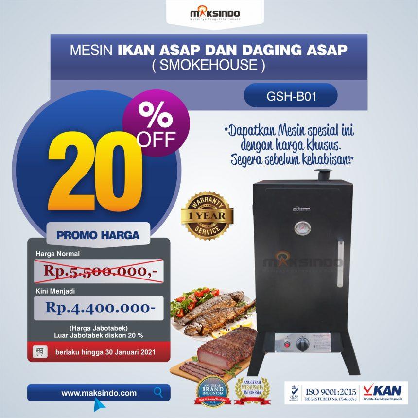 Jual Mesin Ikan Asap dan Daging Asap (Smokehouse) di Bogor