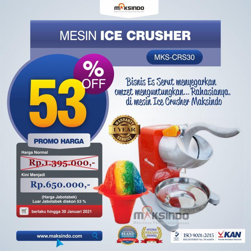 Jual Mesin Ice Crusher MKS-CRS30 di Bogor