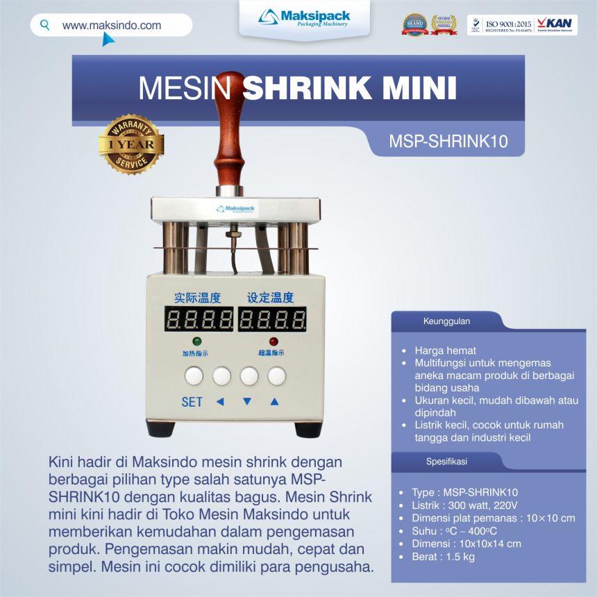Jual Mesin Shrink MSP-SHRINK10 di Bogor