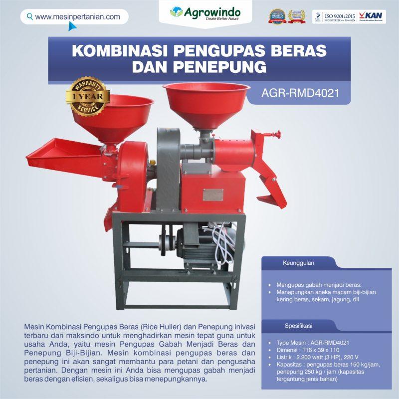 Jual Kombinasi Pengupas Beras dan Penepung RMD4021 di Bogor